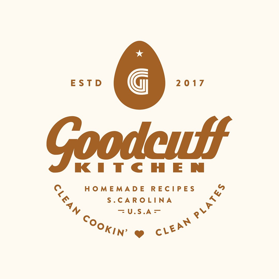 Goodcuff Kitchen Logo and Identity Design by Design Cypher