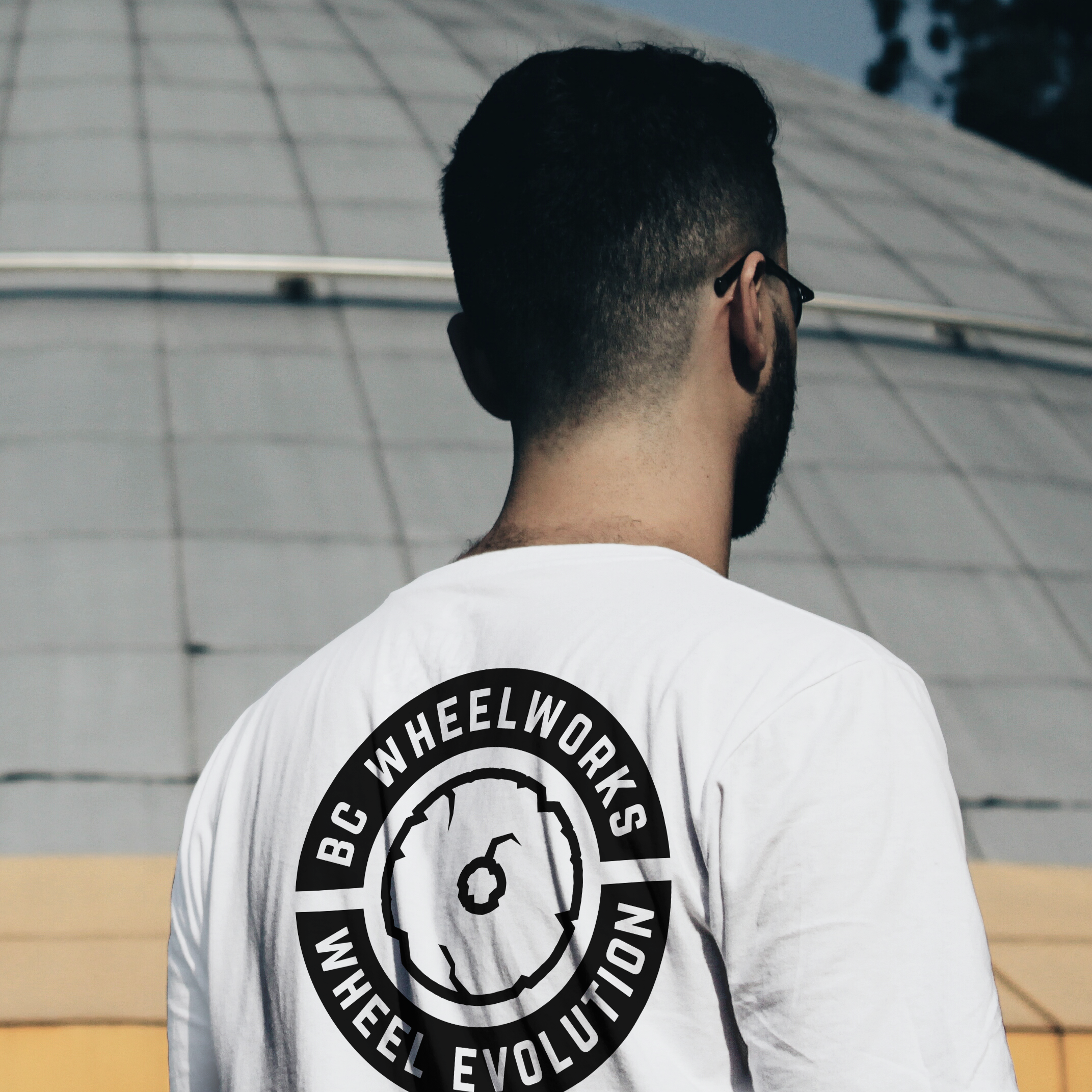 BC WheelWorks Tshirt Mockup