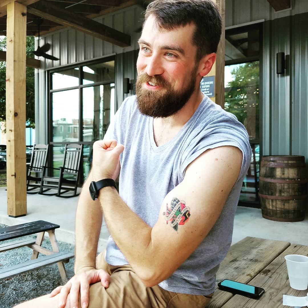Show off you guns with CHS Beer Week Tattoos