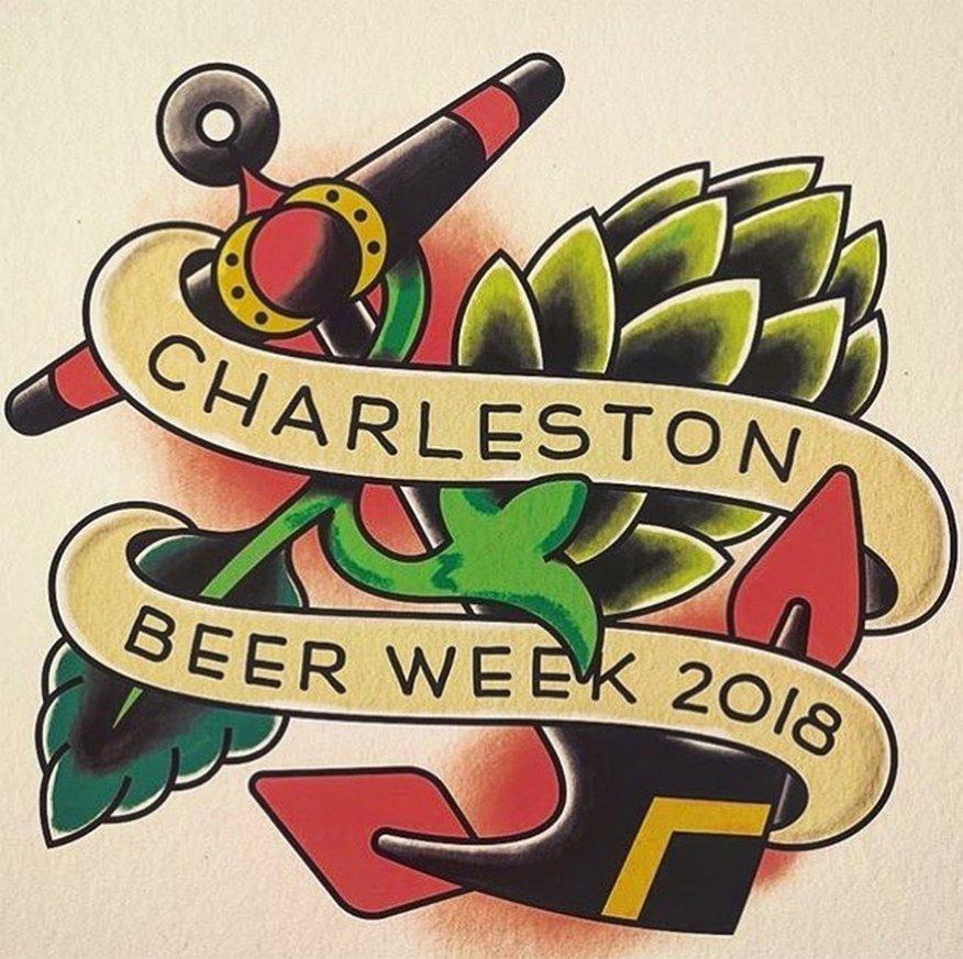 Charleston Beer Week Logo and Branding Design